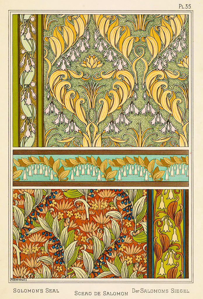 Solomon's Seal Tapestry