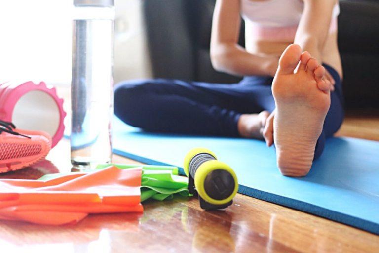 yoga as self-isolation exercise